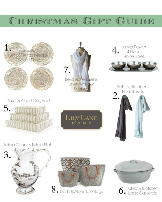 Christmas Gift Guide at Lily Lane Home